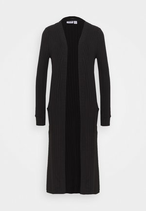 NMINDIGO LONG CARDIGAN - Neuletakki - black