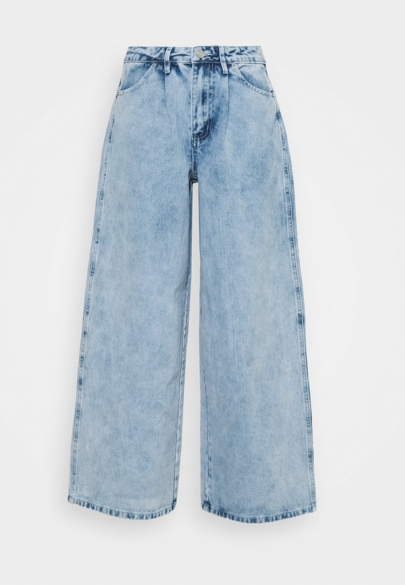Missguided Petite - BAGGY BOYFRIEND - Relaxed fit jeans - light blue