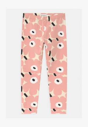 LAIRI MINI UNIKOT - Leggings - Trousers - beige/rose/black