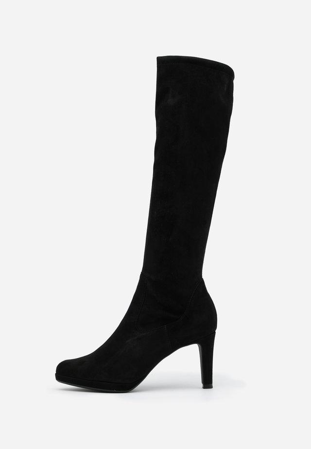 PAULINE - Laarzen met hoge hak - schwarz
