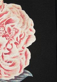 Common Kollectiv - FLORAL HOODIE UNISEX - Sweatshirt - black - 2
