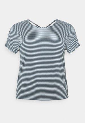 CARALLIE IN ONE TEE - T-shirt print - blue mirage/cloud dancer