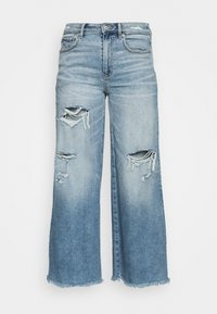 WIDE LEG - Flared Jeans - starry bright