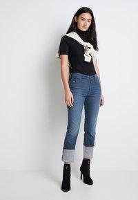 G-Star - MELAM FUNNEL BODY - Print T-shirt - dark black - 2