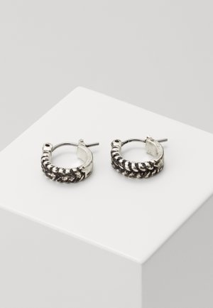 ROPED IN EARRINGS - Earrings - silver-coloured