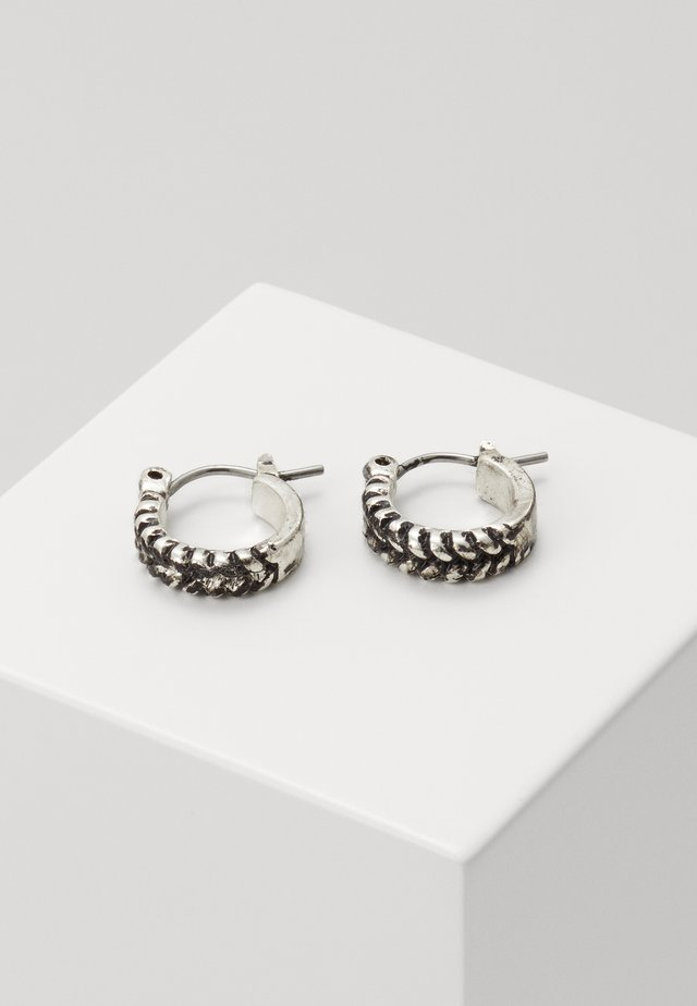 ROPED IN EARRINGS - Orecchini - silver-coloured