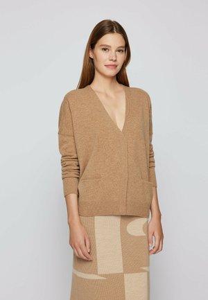 FABULA - Cardigan - light brown