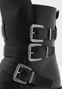 Pinto Di Blu - Cowboy/biker ankle boot - noir - 2