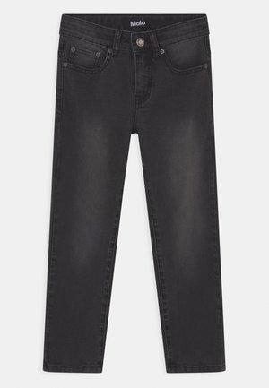 ALON - Straight leg jeans - washed black