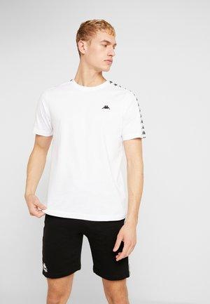 GRENNER - Printtipaita - bright white