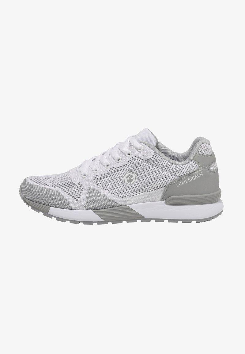Lumberjack - HOOK-AND-LOOP  - Sneakers - white
