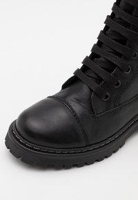 Froddo - ELI TEX MEDIUM FIT - Lace-up boots - black - 5
