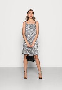 Calvin Klein Jeans - WIDE STRAPS DRESS - Cocktail dress / Party dress - beige - 1
