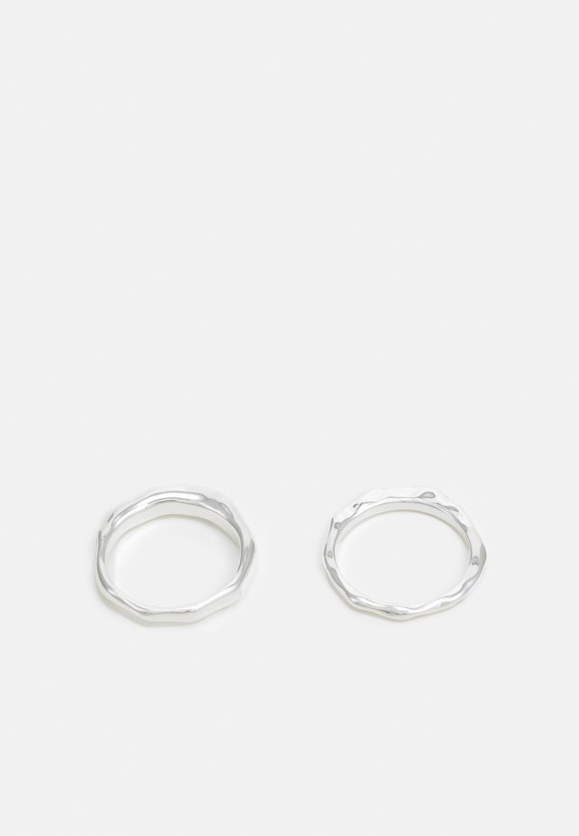 HELIN 2 PACK - Anello - silver-coloured