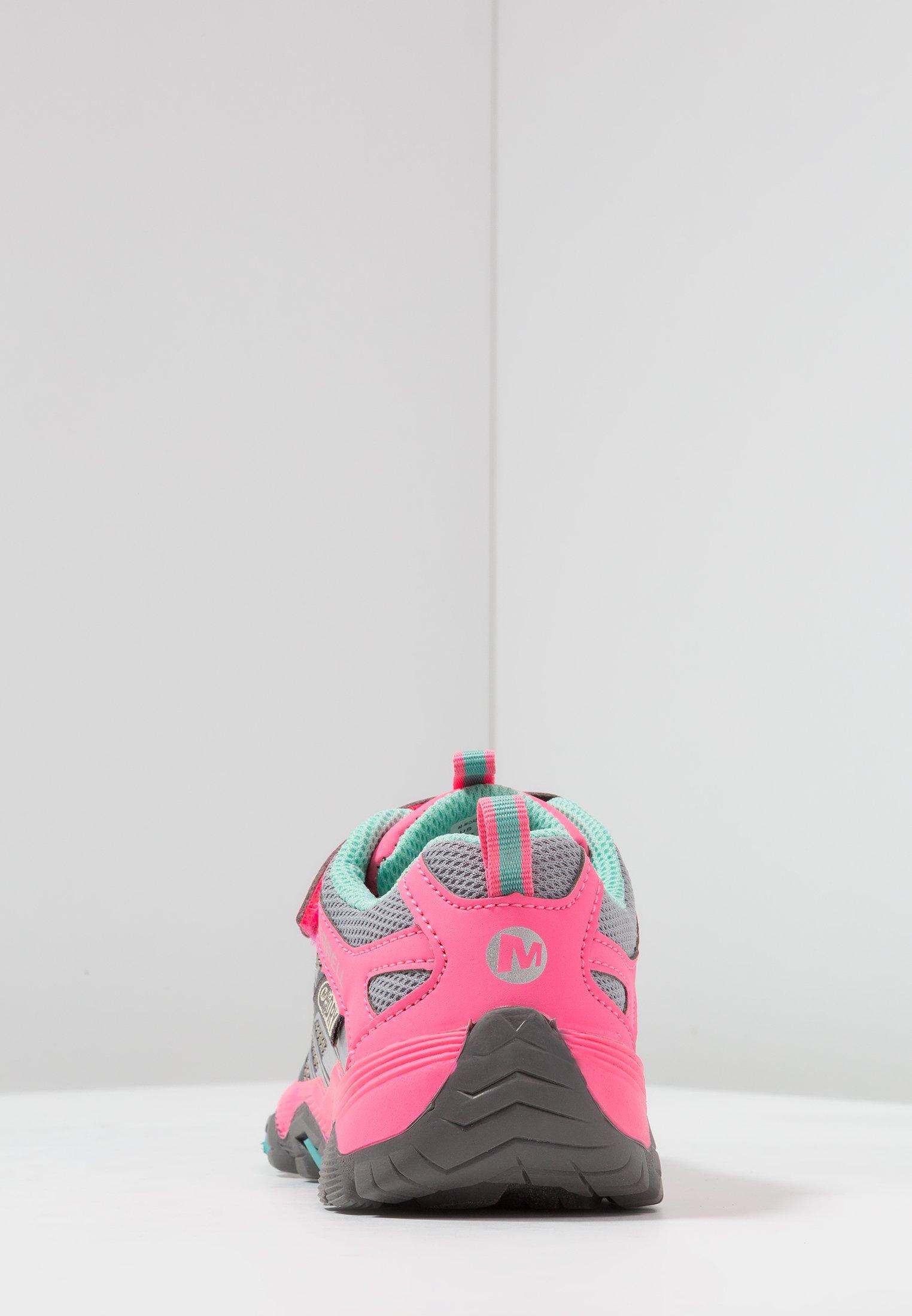 Descuento particular Merrell M-MOAB FST LOW A/C WTRPF - Zapatillas de senderismo - grey/coral   Zapatos para niños 2020 wVooQ