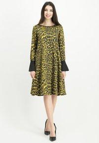 Nicowa - NABITA - Day dress - yellow - 1