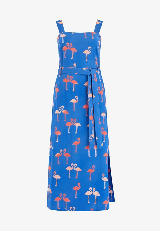ELVA BERMUDA FLAMINGO - Day dress - blue