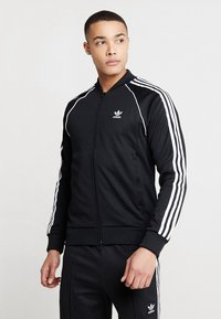 adidas Originals - SUPERSTAR ADICOLOR SPORT INSPIRED TRACK TOP - Trainingsvest - black - 0
