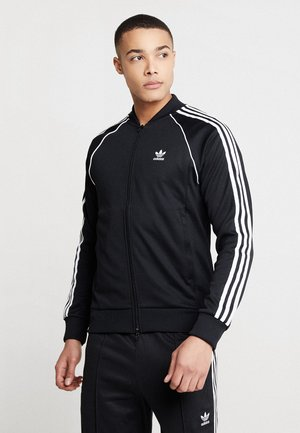 SUPERSTAR ADICOLOR SPORT INSPIRED TRACK TOP - Sportovní bunda - black