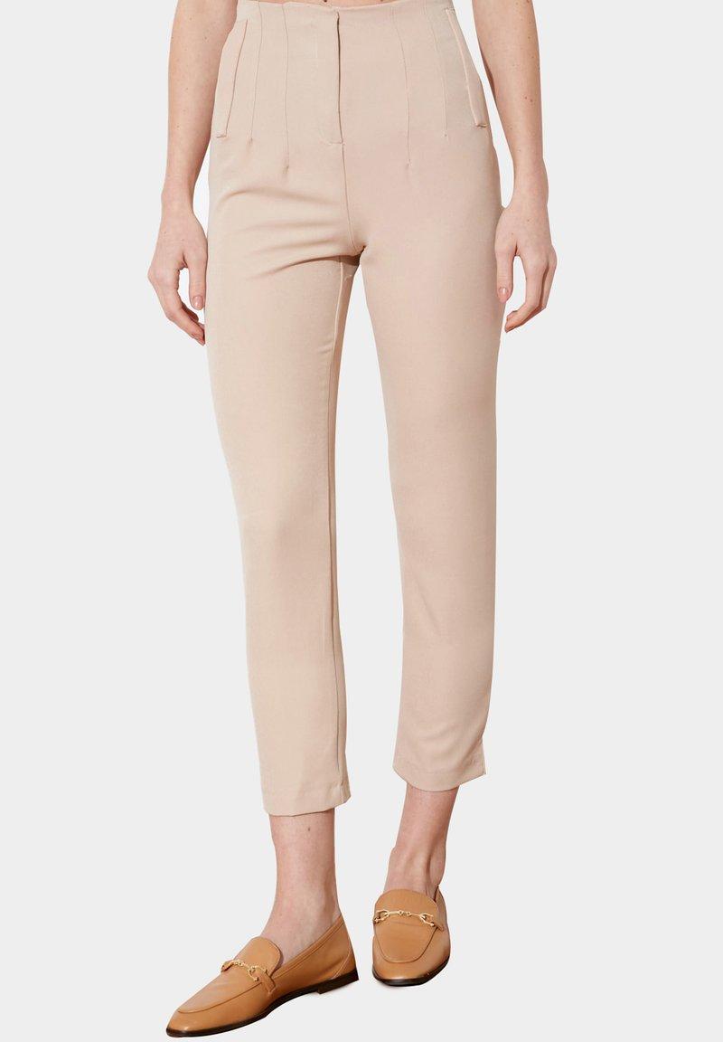 Trendyol - Trousers - beige