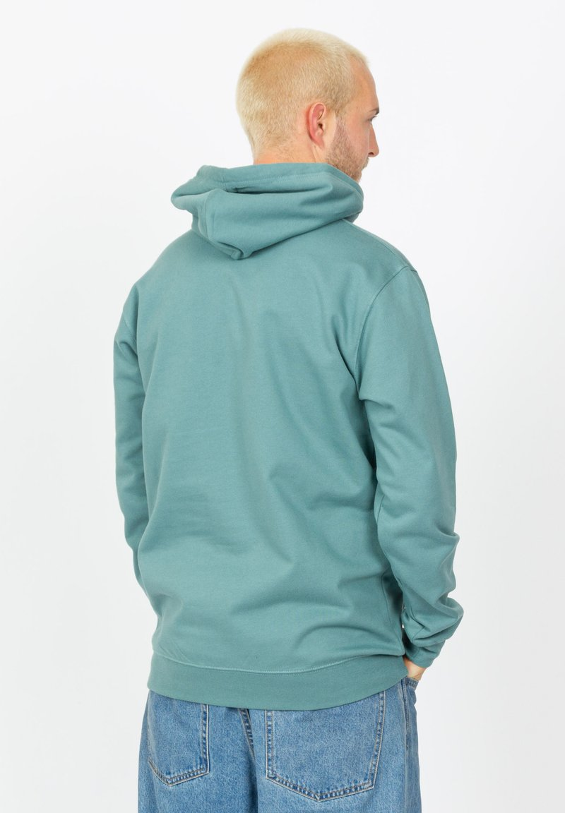 Cleptomanicx Sweatshirt - north atlantic/türkis C0EPry