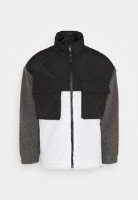 DOUBLE POCKET BORG ZIP THRU - Summer jacket - grey