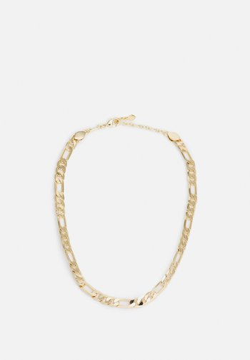 MEDIUM FIGARO CHAIN NECKLACE - Necklace - gold-coloured