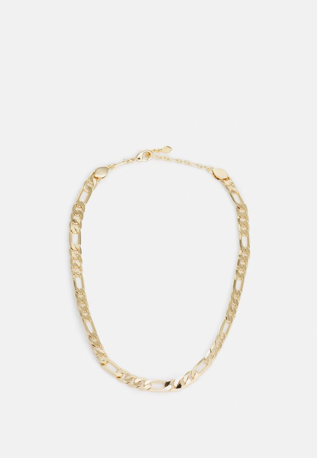 MEDIUM FIGARO CHAIN NECKLACE - Halskette - gold-coloured