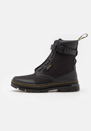 COMBS TECH JUNGLE UNISEX - Lace-up ankle boots - black