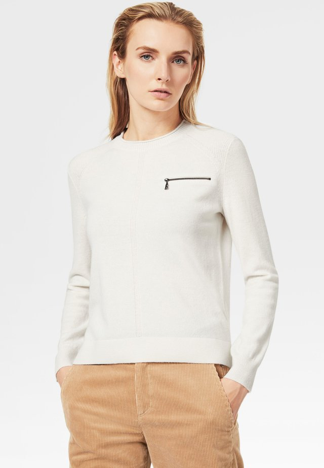 GILL - Pullover - off-white