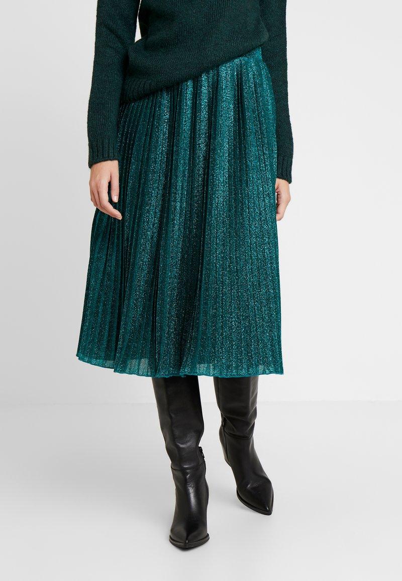 Anna Field - A-linjainen hame - green