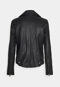 Diesel - L-LYFA - Leather jacket - black - 1