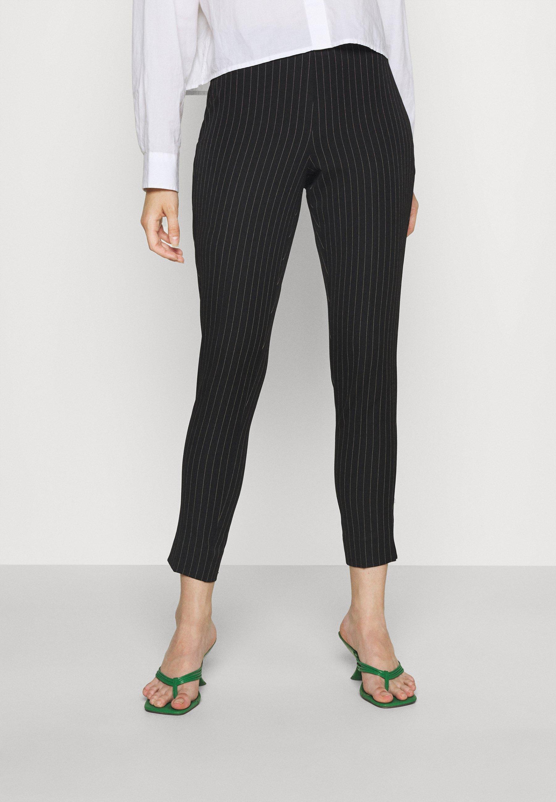 Women VIMANILA NEW HWRE PINSTRIPE PANTS - Trousers