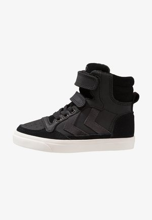 STADIL OILED - High-top trainers - black