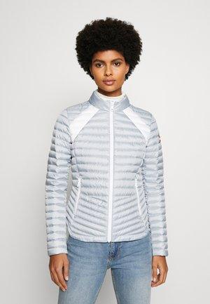 LADIES JACKET - Down jacket - light steel/white