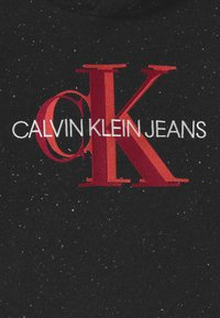 Calvin Klein Jeans - OVERLAPPING MONOGRAM BOXY HOODIE - Hoodie - black - 2