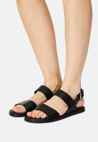 Clarks - KARSEA STRAP - Sandals - black - 0