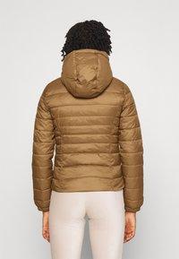 ONLY - ONLNEWTAHOE CONTRAST HOOD JACKET  - Light jacket - toasted coconut/pumice stone - 2