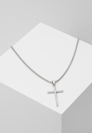 PENDANT NECKLACE - Necklace - silver-coloured tone