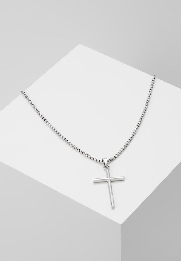 Police - PENDANT NECKLACE - Necklace - silver-coloured tone