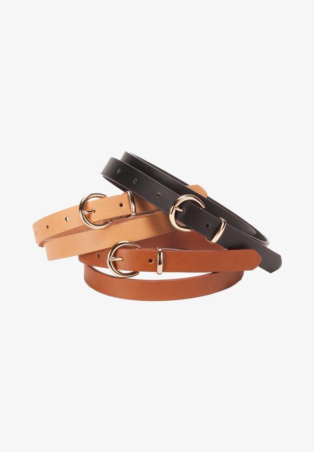3 PACK - Belt - multi