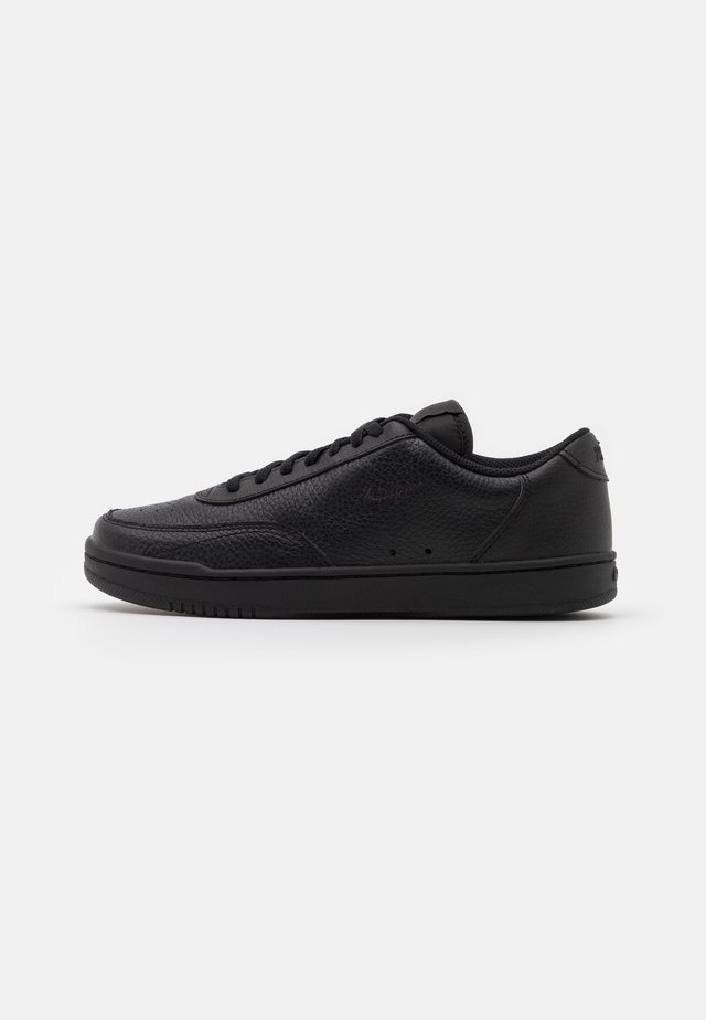 COURT VINTAGE PRM - Baskets basses - black