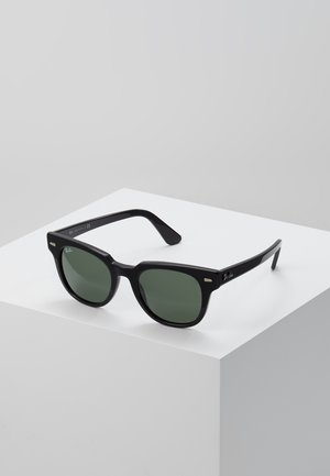 METEOR - Sunglasses - black/green