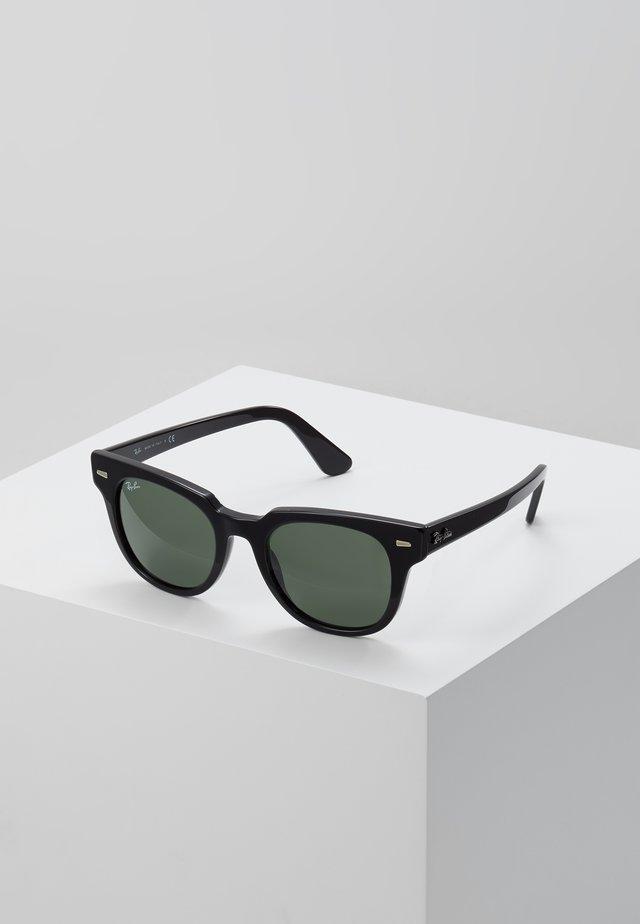 METEOR - Zonnebril - black/green
