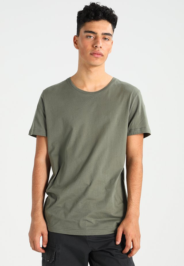ORIGINAL ROUNDNECK - Basic T-shirt - army