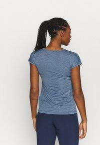 Salewa - PUEZ DRY TEE - T-shirts print - poseidon melange - 2