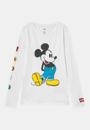 MICKEY MOUSE DISNEY  - Long sleeved top - white
