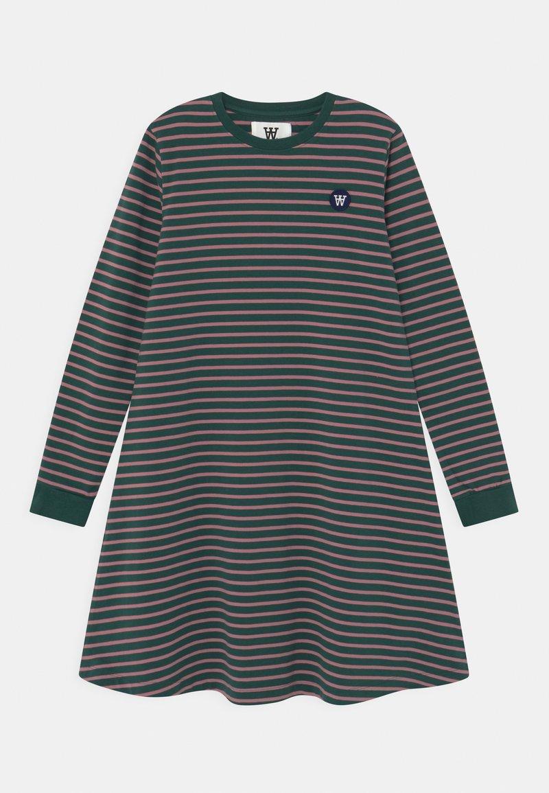 Wood Wood - AYA  - Jersey dress - faded green/rose