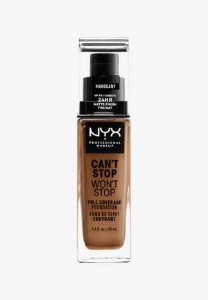 CAN'T STOP WON'T STOP FOUNDATION - Foundation - 16 mahogany