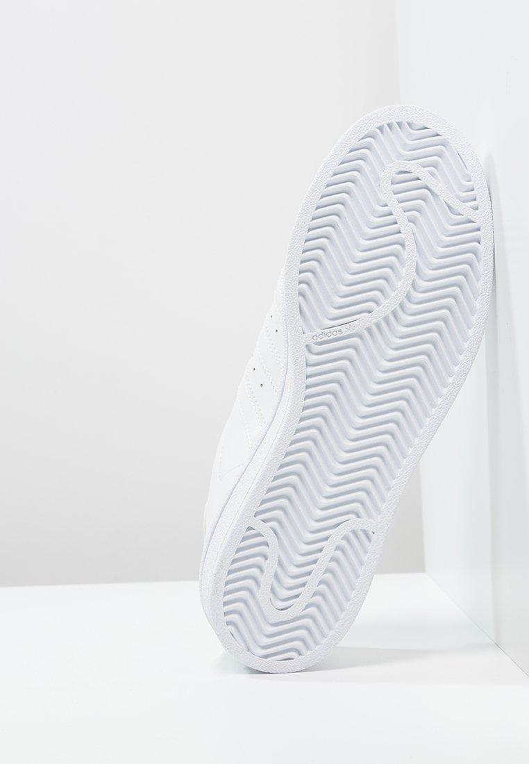 adidas Originals SUPERSTAR FOUNDATION ALL BLACK STYLE SHOES - Sneaker low - white/weiß - Herrenschuhe jw9Py